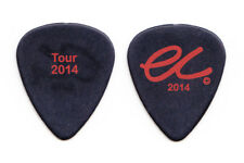 Eric Clapton Black Guitar Pick - Tour 2014