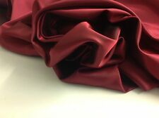 """Beautiful Superior Silky Shot Marooney / Red Silky Lining Fabric 56"""" 143cm Cloth"""