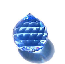 30mm Swarovski Strass Medium Sapphire Blue Crystal Ball Prisms Wholesale Cci