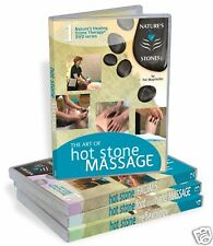 Nature Stones Inc Hot Stone Massage & Spa 4 DVD Set - Video Certificates Manuals
