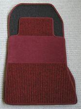 $$$ Rips Fußmatten für Mercedes Benz C124 W124 Coupe E-Klasse +MITTELROT+NEU $$$