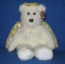 TY HALO II the ANGEL BEAR BEANIE BUDDY - MINT with MINT TAG