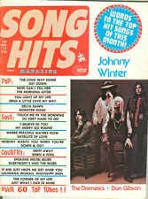 1973 Song Hits magazine Johnny Winter on cover