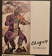 CHAGALL IN CHICAGO exhibition calalog 1979
