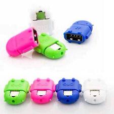 2 OTG-a-Micro-USB-Cavo-Android-Robot-CIONDOLO-adattatore-per-Samsung-S4-S5-HTC