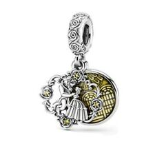 Disney Beauty and the beast Dangle Bead 925 Silver Charm Fiit Pandora NEW 2020