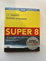 Super 8 w/ Slipcover (Bluray/DVD, 2011) *NEW* [BUY 2 GET 1]