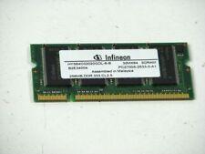 256MB RAM Speicher DDR333 CL2.5 PC2700S-2533-0-A1  4357494-44777