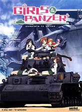 GIRLS PANZER Complete TV Series 12 Episodes Sentai on DVD (DH667)