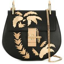 NWT Chloe Drew Bag- Black, Gold Palm Trees- Original Price $2290