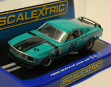 Scalextric C3318 1969 Ford Mustang Rivete 302 - EEUU Solo Slot Coche 1/32