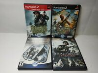 Medal of Honor Playstation 2 Video Game Lot of 4 PS2 War Shooter WWII