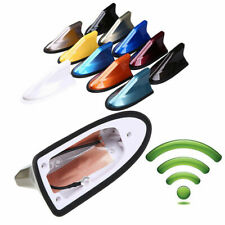 Optional Color Shark Fin Style Antenna Radio Signal Aerial FM/AM Universal Fit