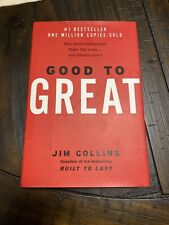 Good to Great:Why Some Companies Make the Leap and Others Don't by Jim Collins