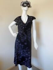 TABLE EIGHT  BLACK AND BROWN PATTERN  DRESS SIZE 10.M    NEW