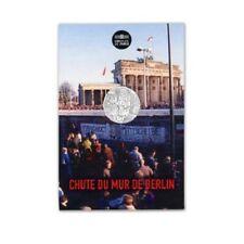 FRANCE 10 Euros Argent Chute du Mur de Berlin 2019 UNC Silver coin