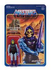 Masters of the Universe Super 7 ReAction SKELETOR BATTLE ARMOR Action Figure