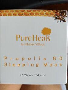 PURE HEALS PROPOLIS 80 SLEEPING MASK 3.38 OZ NIB