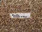 (100) Metric Serrated Flange M6-1.0 Hex Nuts Yellow Zinc grade 10.9 M6x1.0 / 6mm