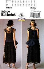 Butterick Sewing Pattern B6399 Women's 14-22 1920's Flapper Dress Costume 6399