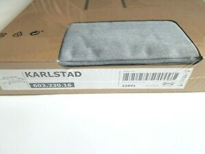 IKEA Karlstad 3 seat Sofa Slipcover - Knisa light Gray - 603.230.16 - New