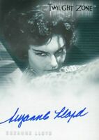 Twilight Zone 2 The Next Dimension Suzanne Lloyd Album Autograph Card A-37