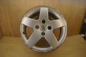 (777573G) Peugeot 207 Wheel alloy fits tyre 185 65 15