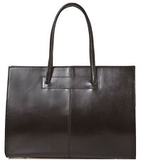 Genuine Leather woman briefcase Bottega Carele BC811. Made in Italy. 2 colors