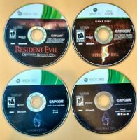 Resident Evil Xbox 360 Games Lot Of 3 (5, 6, Operation Raccoon City)