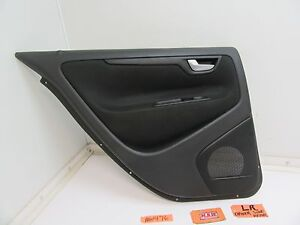 01-09 VOLVO S60 60 REAR BACK DOOR PANEL LEFT L LH LR DRIVER INTERIOR COVER CAR