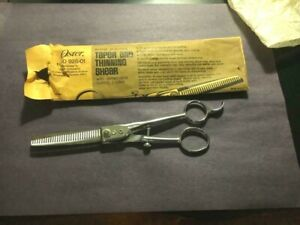 NOS-VINTAGE-Supercut No. 22 Taper Thinning Shear-OSTER- PET Dog Cat GROOMING
