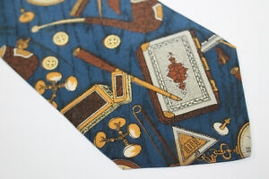 FORNASETTI Silk tie Made in Italy F4343