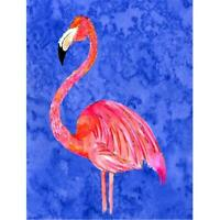 Carolines Treasures 8685CHF Flamingo Canvas Flag - House Size 28 x 40 in.