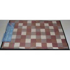 Fußmatte Sauberlauf Proper Tex - Karo Brauntöne 53 x 80cm Fußabstreifer Türmatte