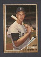 1962 Topps #38 Gene Stephens VG/VGEX C000011189