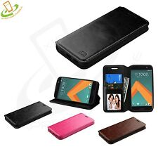For HTC 10 Phone Case Flip Wallet Leather Card Protective Cover Stand Pouch New