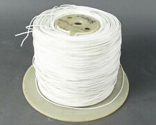 Spool of Stranded Silver Coated Copper Wire - Teflon, 0.18 inches O.D.