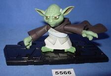 "Star Wars 2003 YODA Clone Wars Animated Series 3.75""  Figure #1"