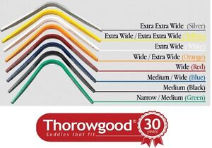 NEW Thorowgood T4 Cob Saddle Interchangeable Gullet Bars Type S Short Bars