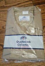 US Navy Men's Shirt, Quarterdeck Collection, X-Large Athletic, Khaki, Brand New
