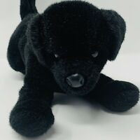 Douglas Cuddle Toy Black Lab Labrador Puppy Dog Plush Stuffed Animal 12""