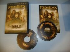 The Lord of the Rings: The Fellowship of the Ring (DVD, 2002, 2-Disc Set, Full)