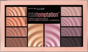 (1) Maybelline Total Temptation Eye Shadow Highlight Palette