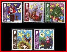 GIBRALTAR 2008 CHRISTMAS MNH fv=2.08£ = $3.30 SANTA, CATTLE A20