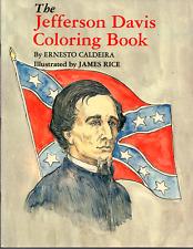 Ernesto Caldeira: The Jefferson Davis Coloring Book
