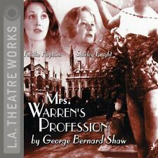 Mrs. Warren's Profession 2001 by Kaitlin Hopkins  narrator  Shirley K 1580812171