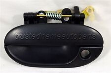 fits Hyundai Outside Outer Exterior Door Handle Left Front Driver Black Textured