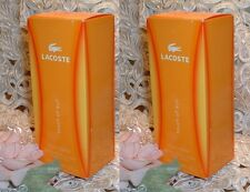 LOT ~ Lacoste TOUCH OF SUN ~ 5 oz /150ml EACH ~ Perfume d BODY LOTION S ~