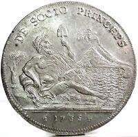 NAPOLI (Carlo III di Borbone) 120 Grana 1735-Sebeto,FDC.