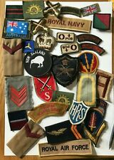 BRITISH AUSTRALIAN AMERICAN NEW ZEALAND BADGES & PATCHES (ALL )